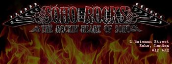 SOHO ROCKS - Rock Bar London Cover Image on XploreUk
