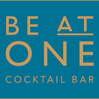 Be At One Cocktail Bar Logo Image on XploreUK