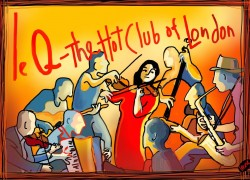 Le QuecumBar - Hot Club of London Cover Image
