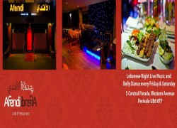 Afendi Arabic NightClub London Cover Image
