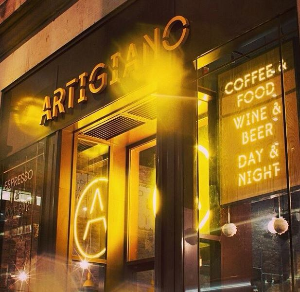 Artigiano Espresso & Wine Bars Cover Image on XploreUk