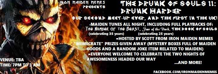 The Drunk of Souls II: Drunk Harder by Iron Maiden Memes Image