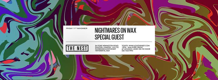 Nightmares on Wax + Special Guest Image