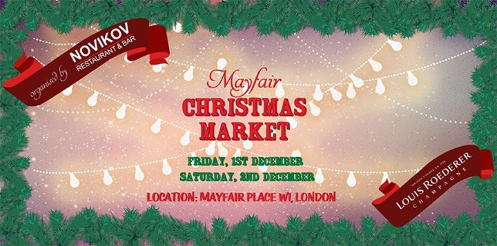 Novikov Mayfair Christmas Market Image
