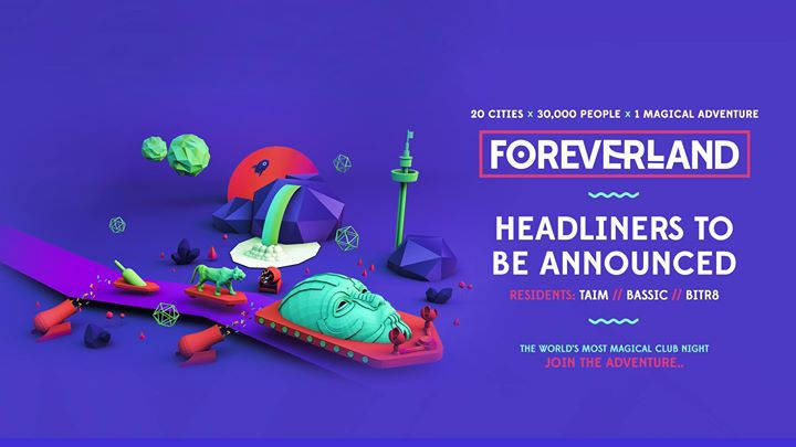Foreverland comes to London  LAST 300 Tickets! Image
