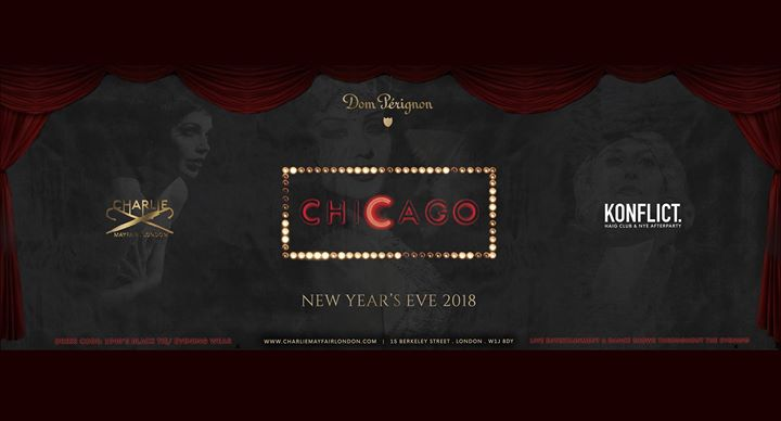 Dom Perignon New Year's Eve 2018 Presents Chicago Event Image