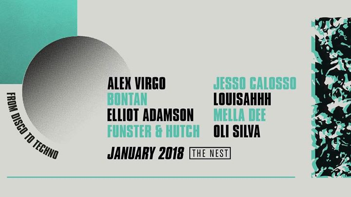 From Disco To Techno: January 2018 Event Image