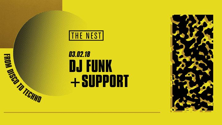 DJ Funk + Support Event Image