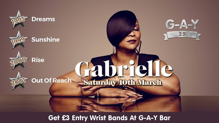 Gabrielle At G A Y Event Image