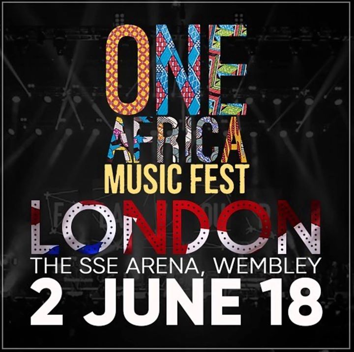 One Africa Music Fest London 2018 Event Image