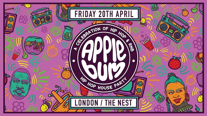 Applebum / London / The Nest Event Image