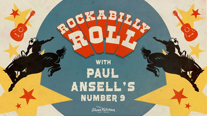 Rockabilly Roll with Paul Ansell's Number 9 Event Image