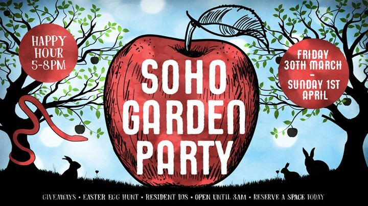 Soho Garden Party Event Image
