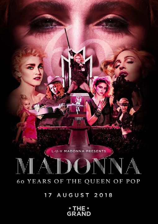 Madonna  60 Years of The Queen of Pop Event Image