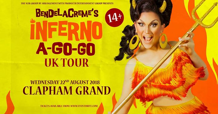 BenDeLaCreme's Inferno A Go Go at Clapham Grand | London Image