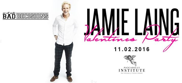 Jamie Laing Valentine's Party // Bad Decisions Student Night Image